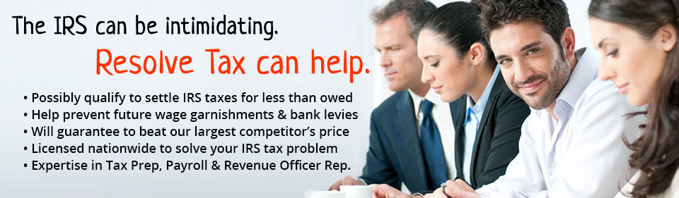 Settle your IRS back tax debt for a fraction of what you owe!